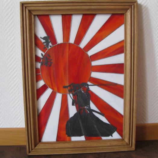 Samouraï en tiffany