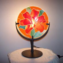 Lampe fusing allumé rouge