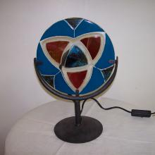 Lampe fusing bleu