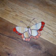 papillon en vitrail tiffany